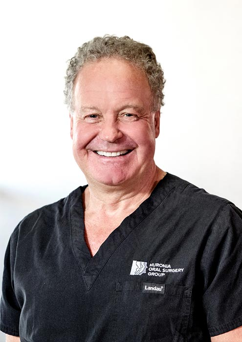 Dr. Bruce M. MacNicol at Huronia Oral Surgery Group